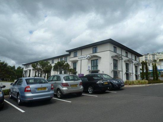 Premier Inn Torquay Hotel: Front of Hotel
