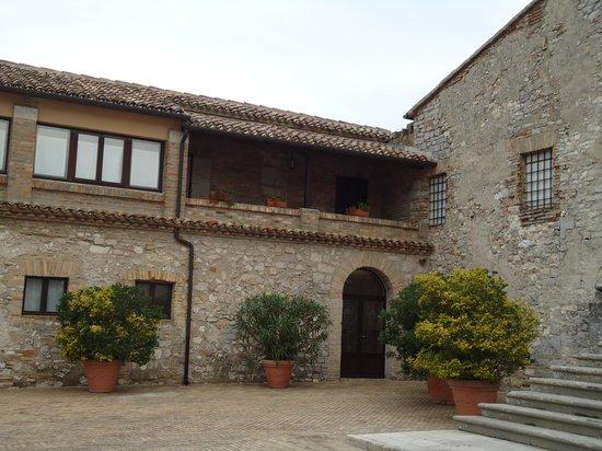 Hotel Monteconero: Cortile