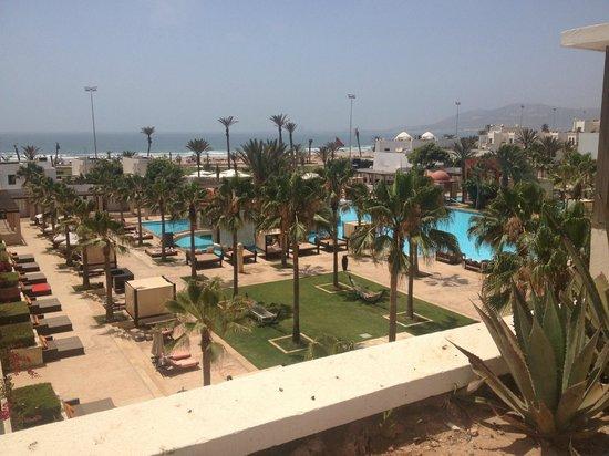 Sofitel Agadir Royal Bay Resort: View from a balcony
