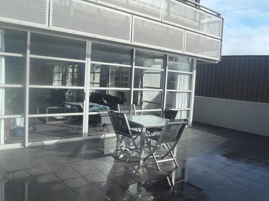Zero Davey Boutique Apartment Hotel: balcony