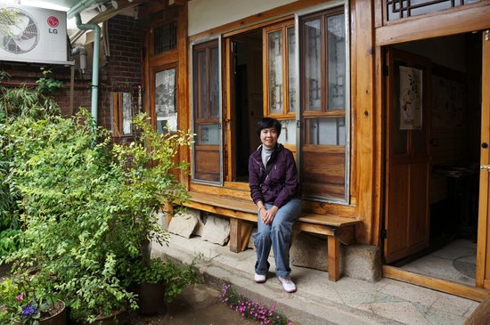 Gongsimga Guesthouse : in front of the room