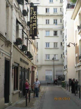 Eiffel Rive Gauche: Hotel entrance