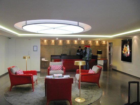 Hotel Beauchamps : Main Lobby