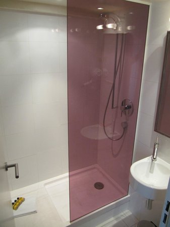 Hotel Beauchamps : Shower