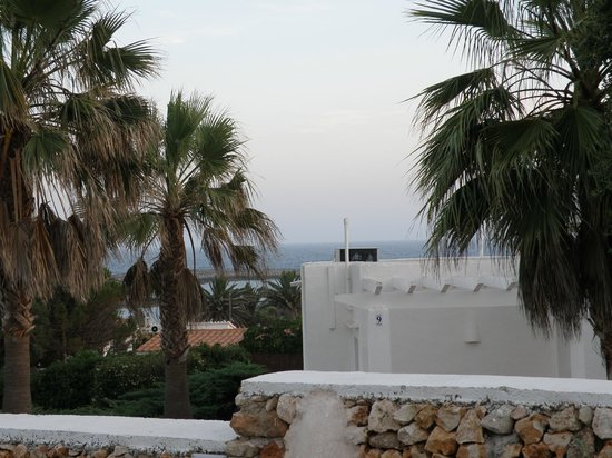 Villas Etnia: Lo que se veia desde la terraza
