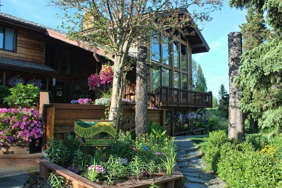 Alaskan Frontier Gardens Bed and Breakfast: Welcoming