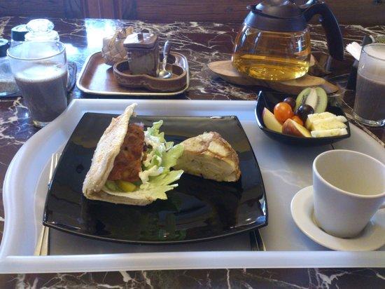 Casa de Angie B&B: 早餐