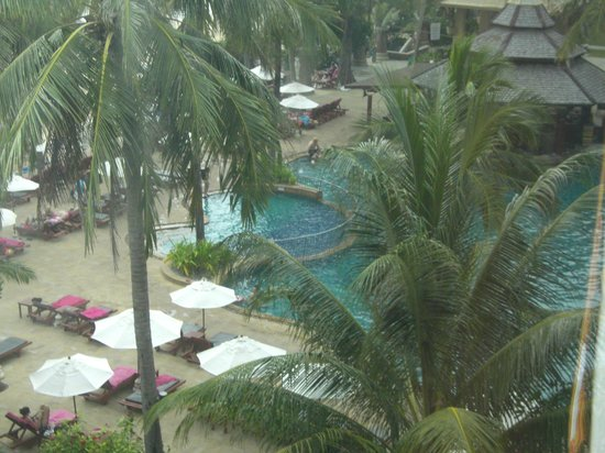 Kata Beach Resort and Spa: view from our room.