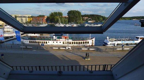 Hotel Am Yachthafen: Blick aus dem Fenster