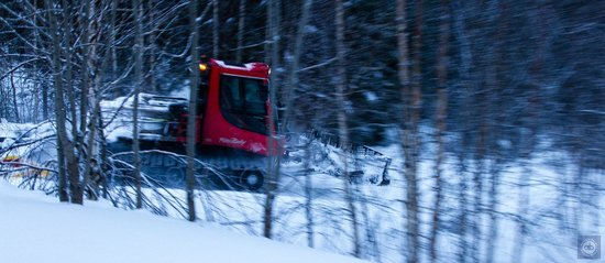 Hotel YllasHumina: Well maintained cross-country ski trails