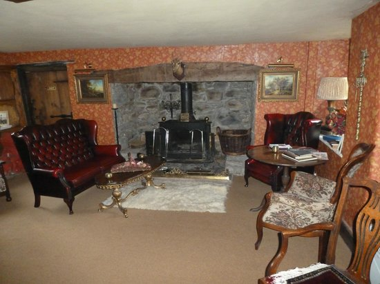 Glyn Isa Country House: Aufenthaltsraum