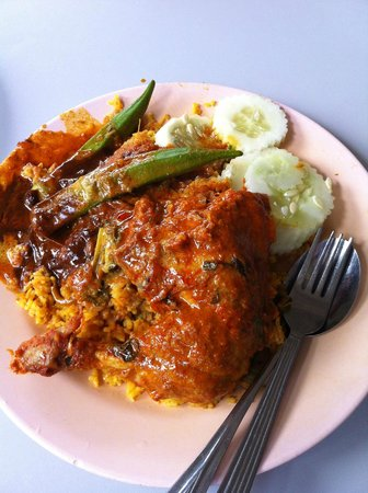 Nasi Kandar Line Clear: Chicken curry
