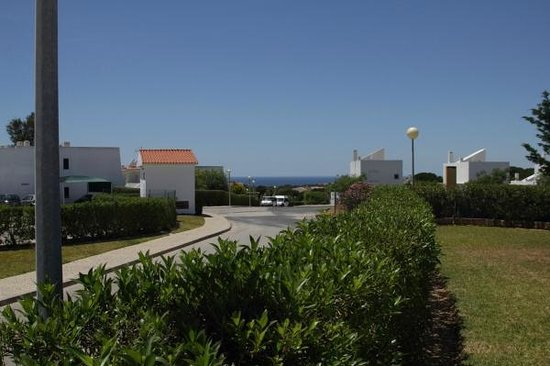 View from Quintinha Village pool area