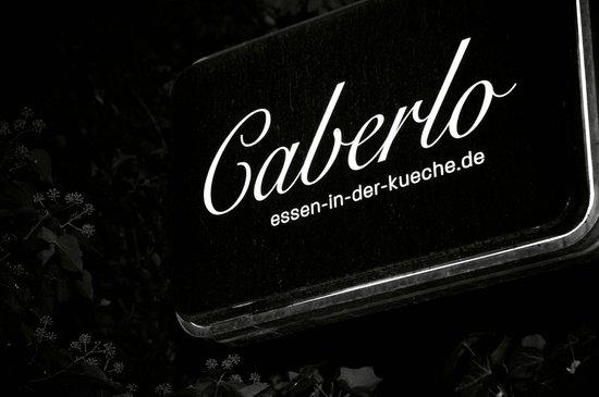 Restaurant Caberlo: Das Motto: Essen in der Küche