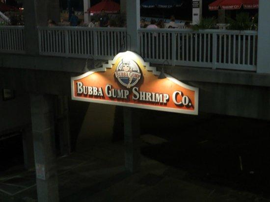Bubba Gump Shrimp Co.: As the sign says....