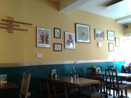 The  Coffee Mill Cafe: A bit of the interior