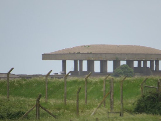 Orford Ness National Nature Reserve: Testing facility, Orford Ness
