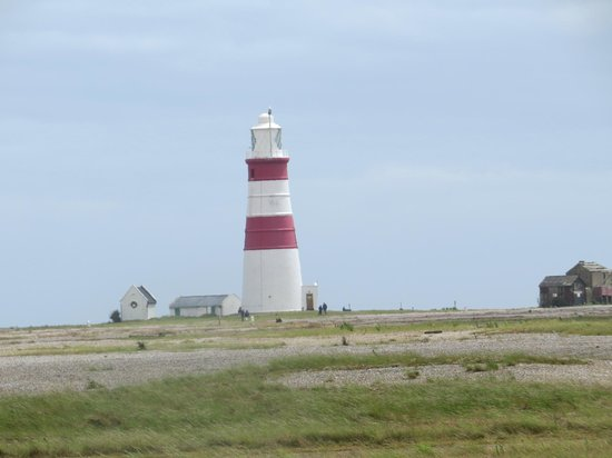 Orford Ness National Nature Reserve: The Lighthouse, Orford Ness