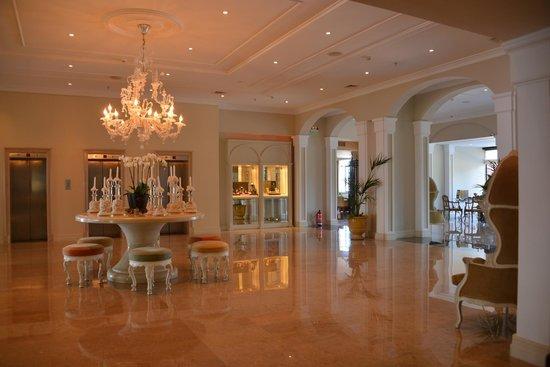 Grecotel Corfu Imperial: Reception