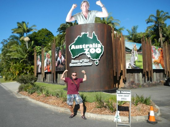 Australia Zoo: Entree area of the zoo
