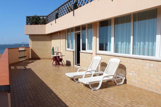 Park Hotel Residence: La terrazza privata della camera