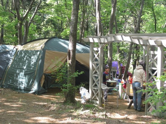 Rural Kise Fontane no Mori: tent-site