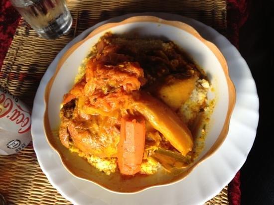 Four Seasons of Mogador : Couscous poulet-légumes