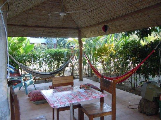 Las Mariposas: Rest/dining area