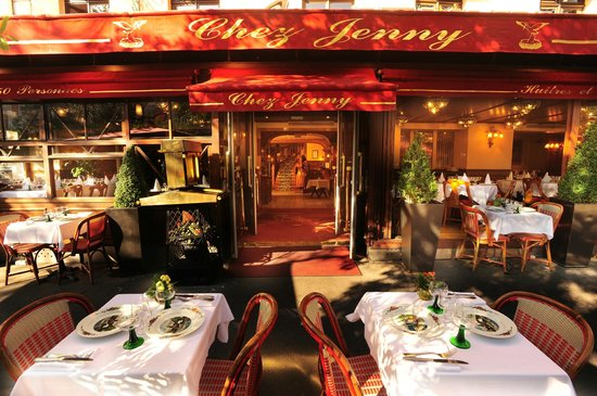 Chez Jenny Paris Le Marais Restaurant Reviews Phone