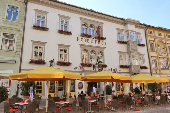 Romantik Hotel Post: Frontansicht