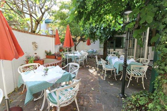 Romantik Hotel Post: Terrasse