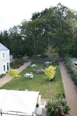 Manoir du Parc: vista giardino dalla camera