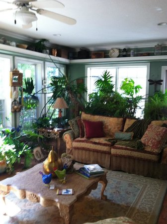 Butterfly Creek Inn Tryon: living room