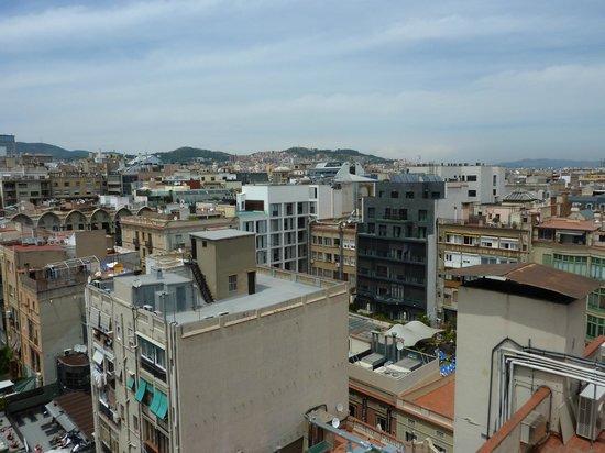 Hotel HCC Regente: Vue de la terrasse (chambre 707)