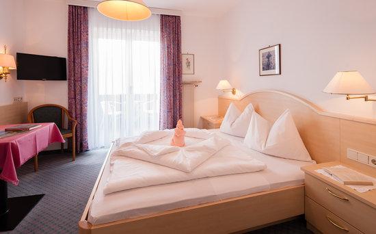 Hotel Bellevue: Doppelzimmer Typ Vigiljoch/Haupthaus