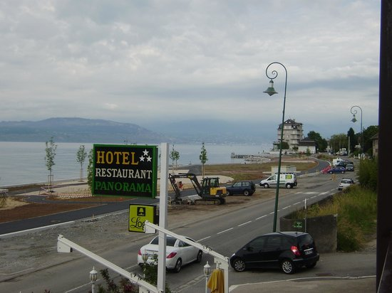Hotel le Panorama: Vue de la chambre