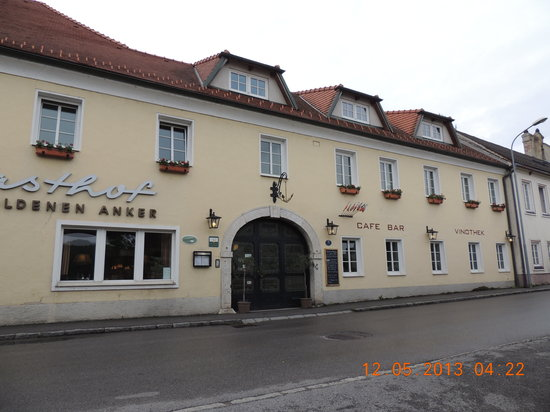 Gasthof Zum Goldenen Anker: nice place to stay