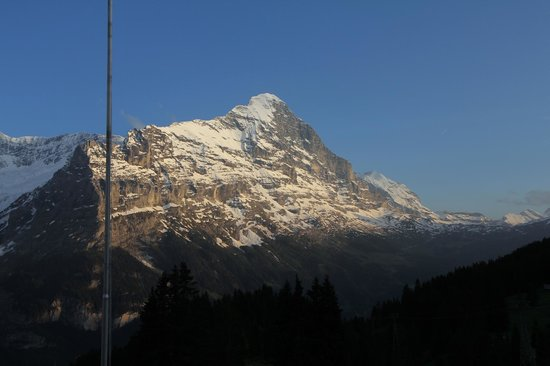 Berghaus Bort: the view (eiger)
