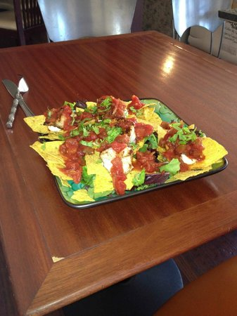 Positively 4th Street Cafe : Shrimp Nachos