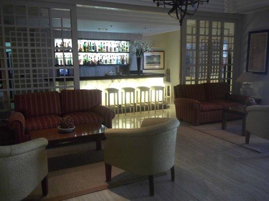 Hotel Villa Vik: bar and seating area
