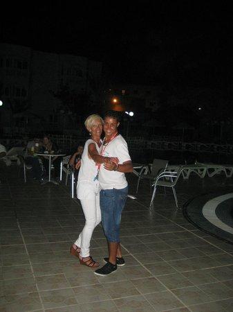 Hotel Monastir Center: Soirée dansante ..Merci Willy!