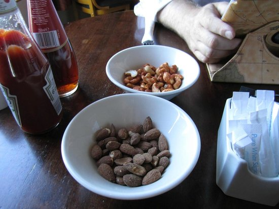 Counties Restaurant : Nuts - Served Before Burgers...Classy
