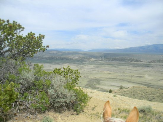 Lonesome Spur Ranch : riding scenery