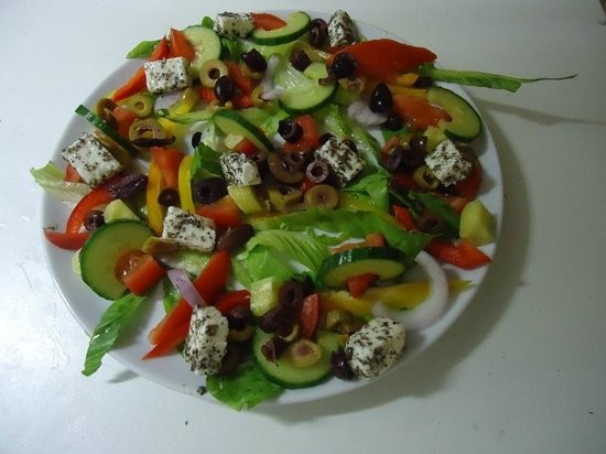Junipers Restaurant: Junipers Greek Salad