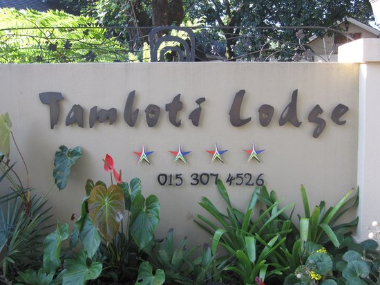 Tamboti Lodge: Welcome