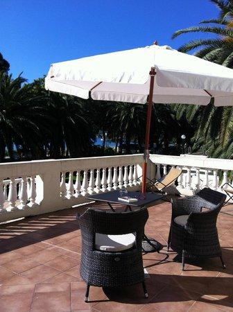 Villa Imperiale Hotel: Private terrace