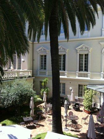 Villa Imperiale Hotel: Hotel garden