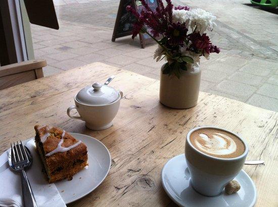 Coffee&Cake @ The Habitat Cafe!