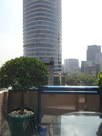 Marquis Reforma Hotel & Spa: PH's terrace