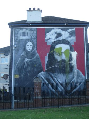Bloody Sunday Memorial: Hunger Strike-recently defaced